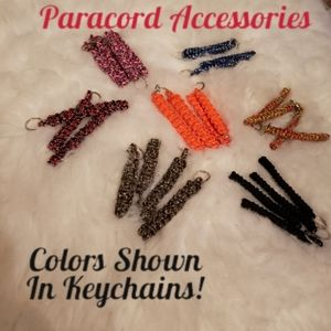 Paracord 5Ft Keychains Sturdy Survival Hiking